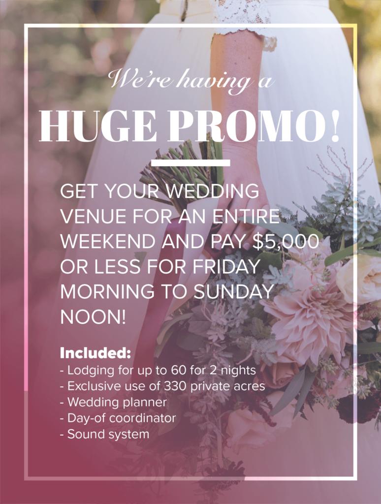 2019 Sugar Hollow Weddings Promo