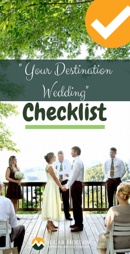 Your Destination Wedding Checklist