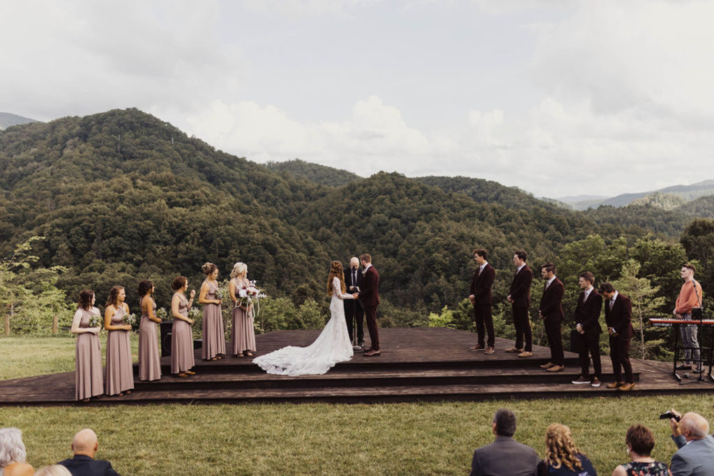 Elope in the mountains